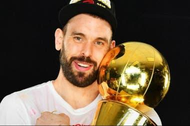 Marc Gasol, campeón de la NBA con los Raptors, ahora quiere el Mundial