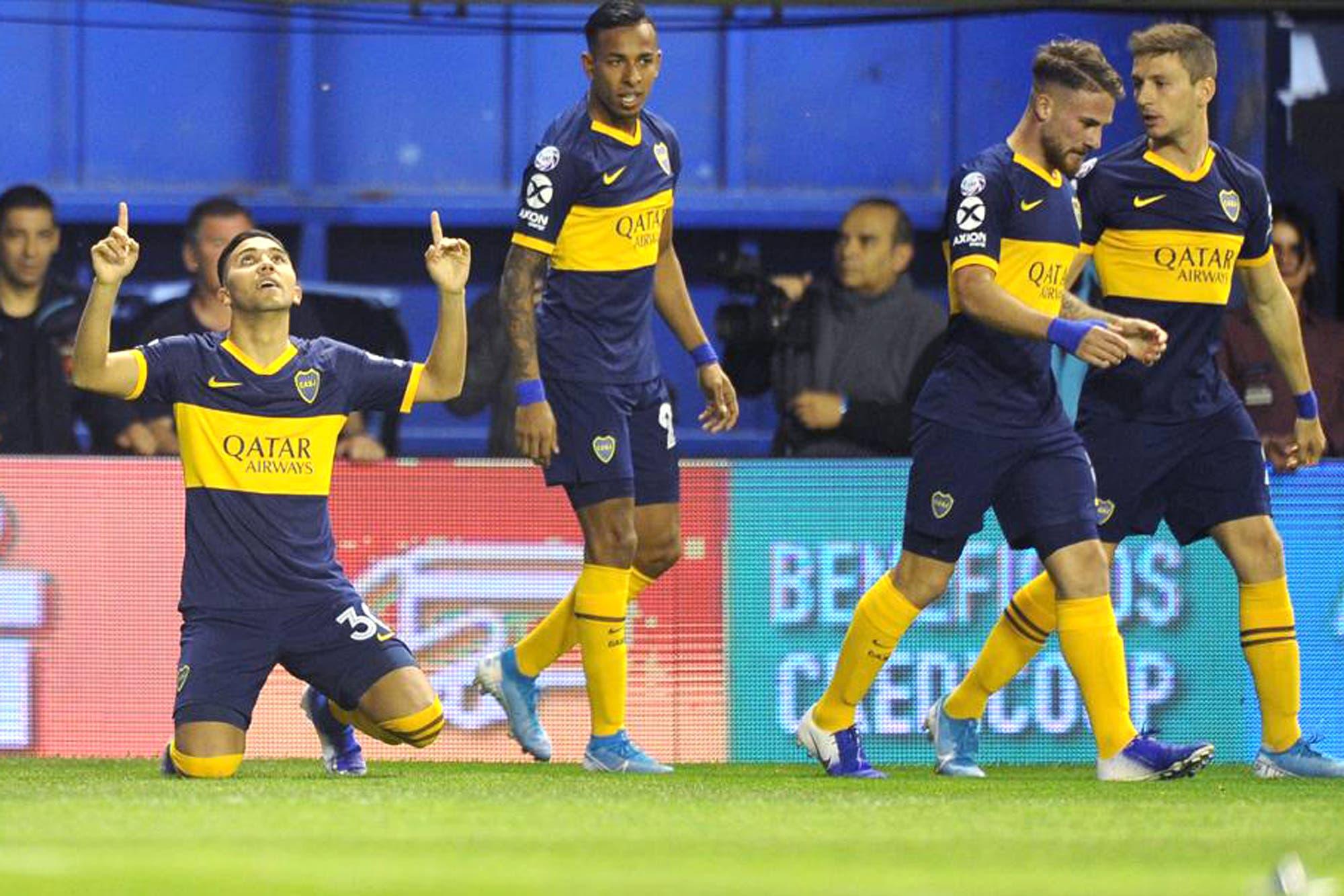 Boca-Estudiantes, por la Superliga: el xeneize gana 1-0, con gol de Reynoso
