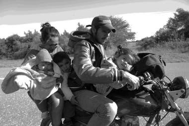 Familia en la ruta, Chaco