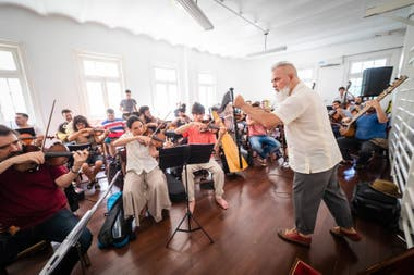 Terán, al frente de la orquesta que versionará los clásicos de Cerati