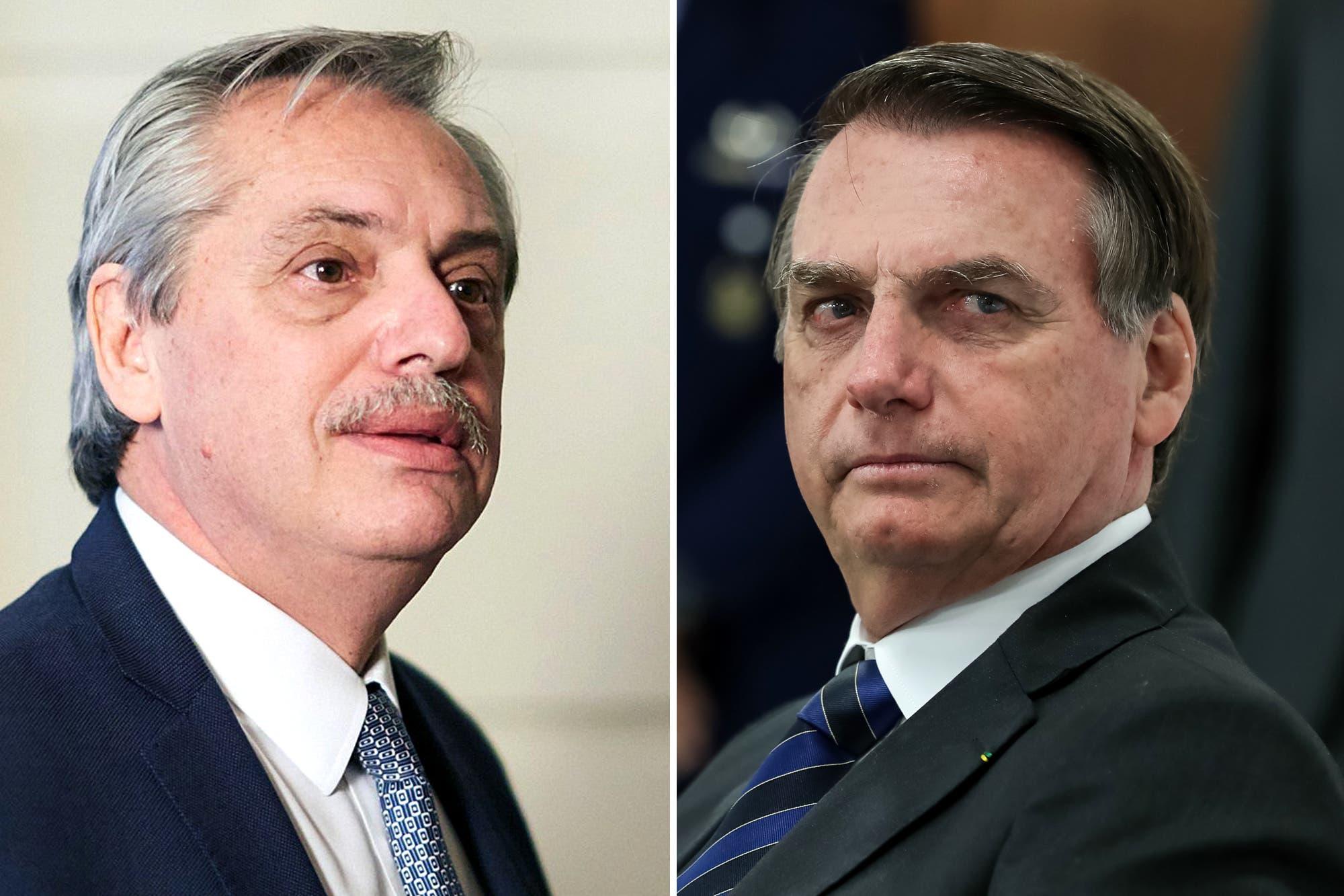 """Alberto Fernández y la reunión con Jair Bolsonaro: """"No sé si voy a poder ir a Montevideo el 1° de marzo"""""""