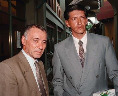 Luis Tula y su abogado