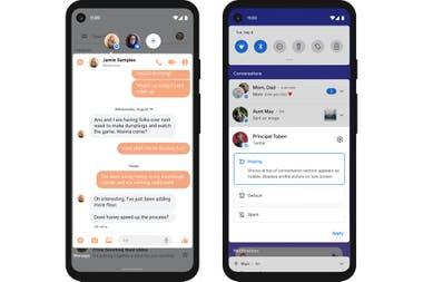 Las burbujas de chat que suma Android 11 son similares a las de Facebook Messenger