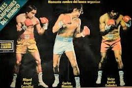La era de los tres grandes campeones mundiales: Castellini, Carlos Monzón y Víctor Galíndez