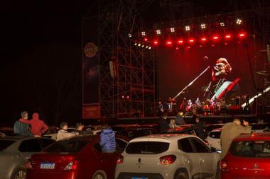 Los Pericos repasaron su carrera en el autoshow que dieron en la costanera