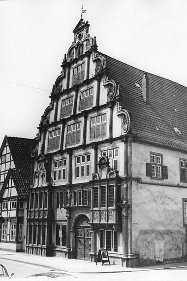 La casa del alcalde de las brujas (Hexenbürgermeisterhaus) en Lemgo es ahora un museo sobre el oscuro pasado de la ciudad
