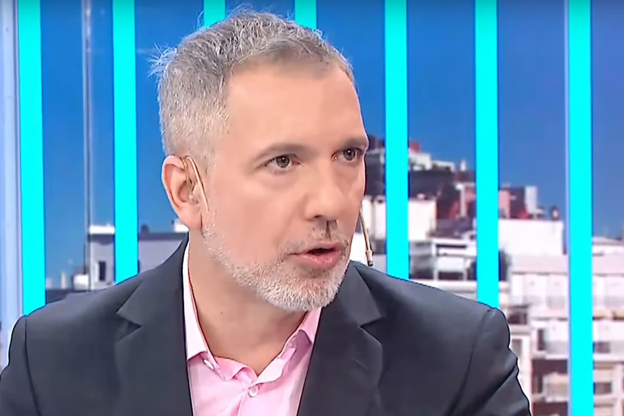 """Pablo Duggan cuestionó al nuevo acompañante de Susana Giménez: """"Es un nabo importante"""""""