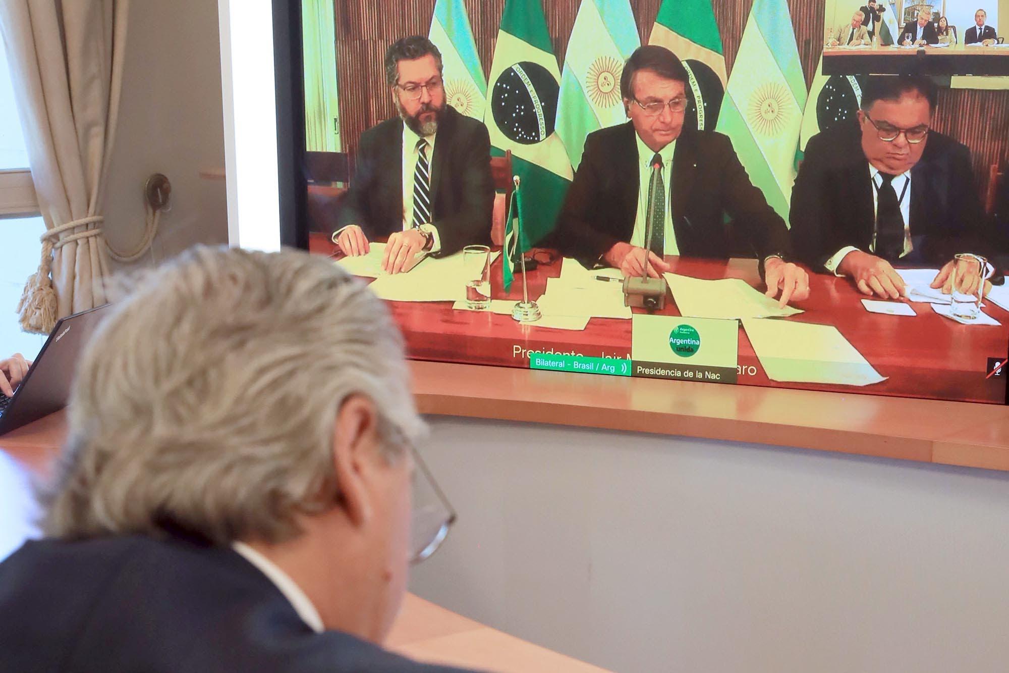Las razones que ayudan a la reconstrucción del vínculo con Bolsonaro