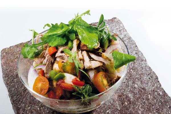 Receta de Fresca ensalada de cordero