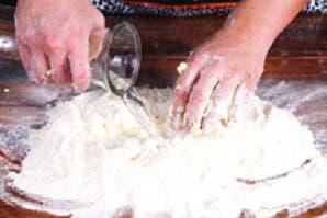Bagels rellenos con salmón y rúcula