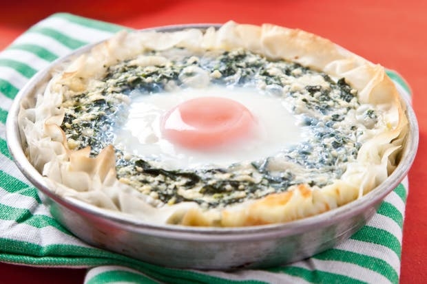 Receta de Tarteletas de espinaca y huevo