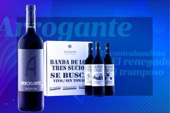 Solo en Off. El Tramposo, El Arrogante y El Contrabandista, los curiosos nombres de los vinos que lanzó Vicentin