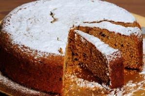 Torta granizada de dulce de leche y crema