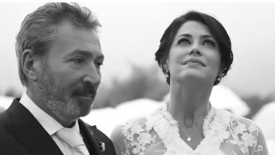 Mirá el video del casamiento bajo agua de Pamela David y
