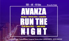 Carrera Avanza Run The Night en las playas de Miramar