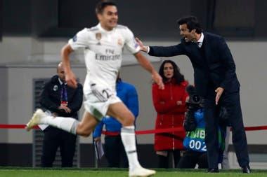 Santiago Solari y una labor en Real Madrid a pura adrenalina; hasta ahora ganó tres partidos de tres