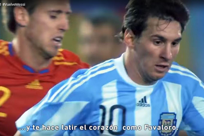 """Sin Maradona: """"10 argentinos en 1"""", el video de la AFA dedicado a Messi"""