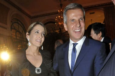 Martín Redrado presentó oficialmente a su novia en una gala