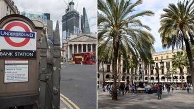 Londres tendrá temperaturas similares a las de Barcelona o Melbourne, y el cambio irá acompañado de períodos de sequía, de acuerdo al estudio