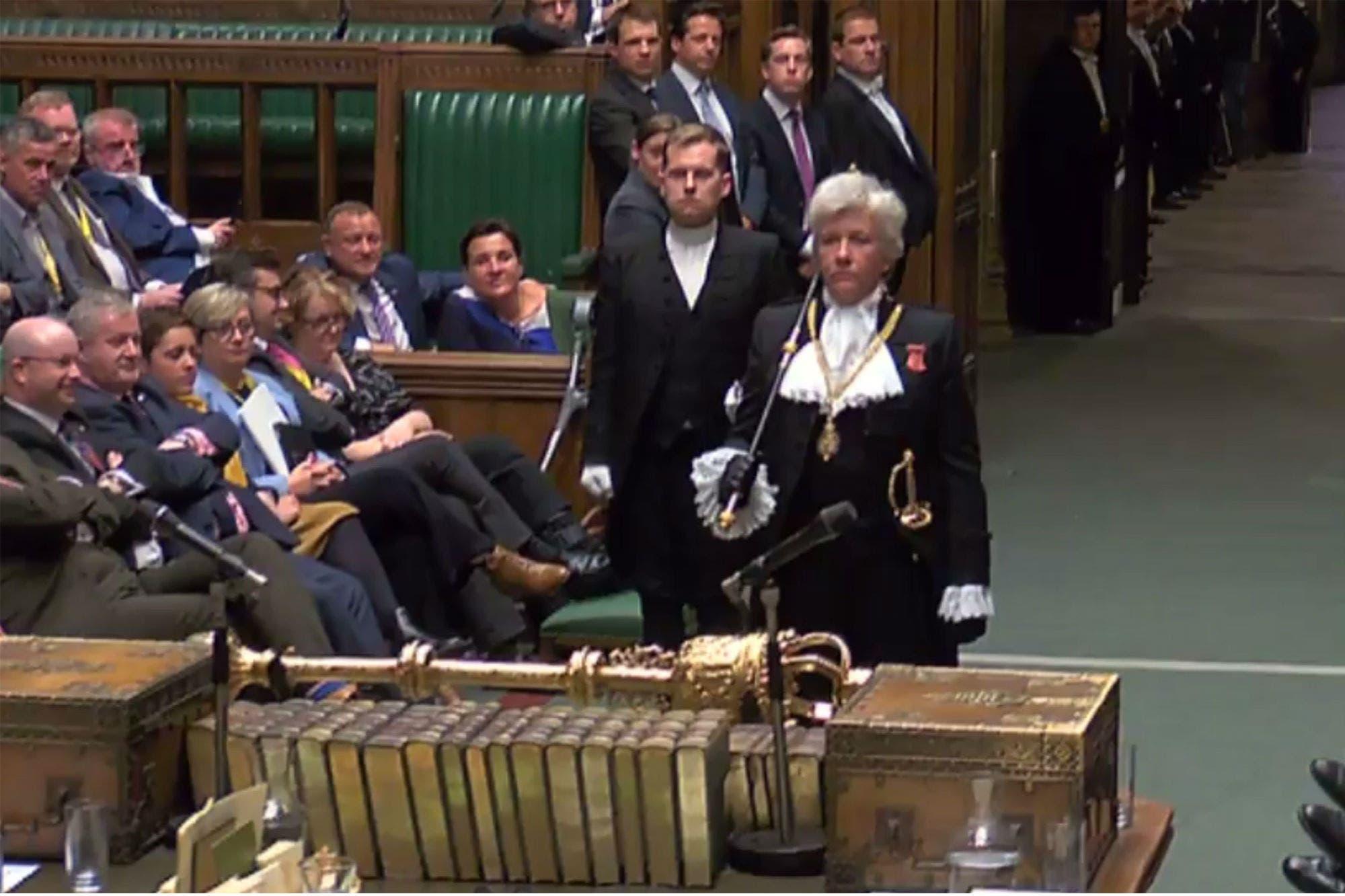 Actor Porno En Parlamento solemne y caótica: así fue la lujosa ceremonia en la que se