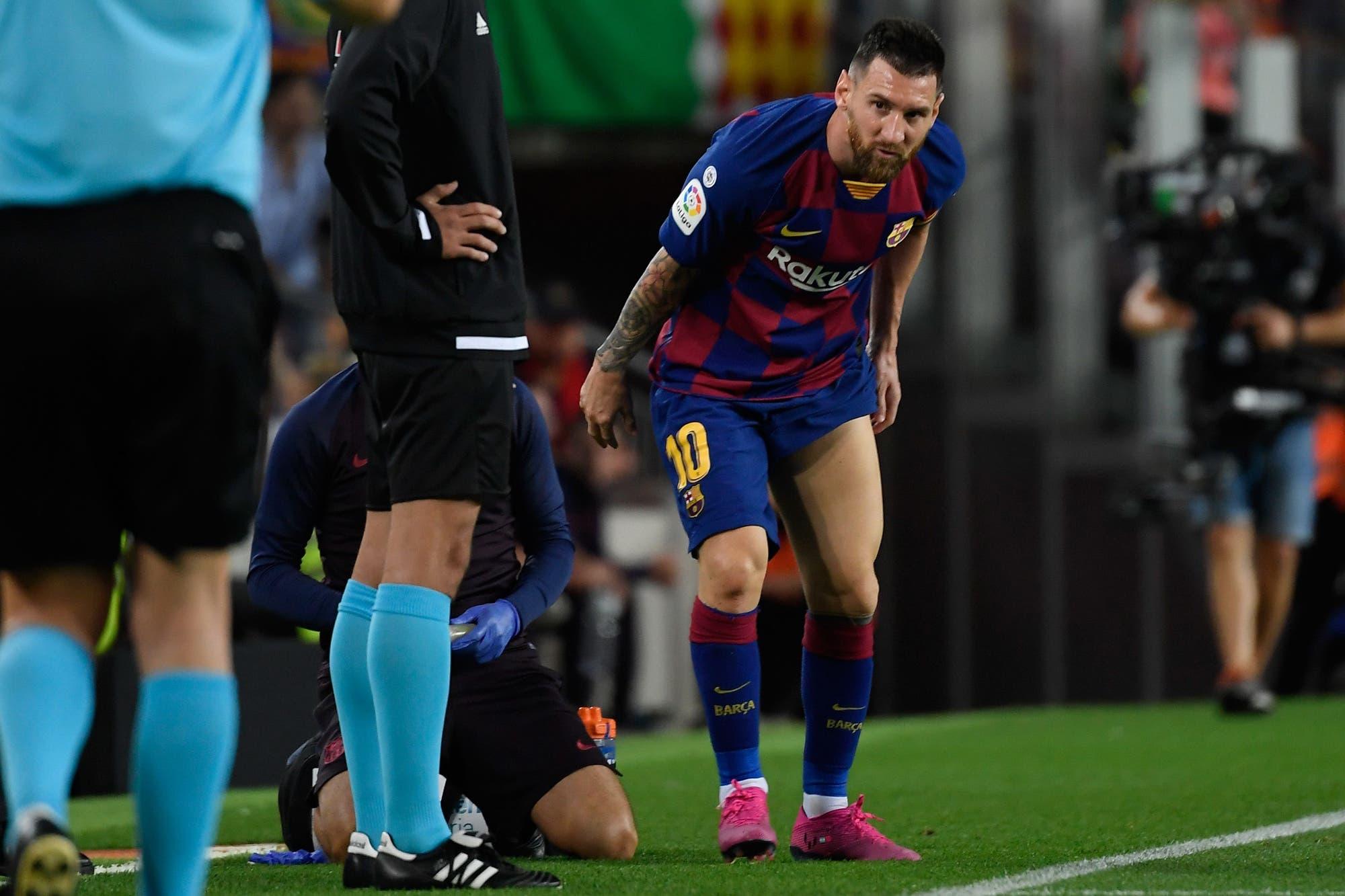 Lionel Messi: de los aplausos por el premio The Best a la alarma por las lesiones