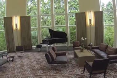 Un lugar de relax, con el piano de fondo