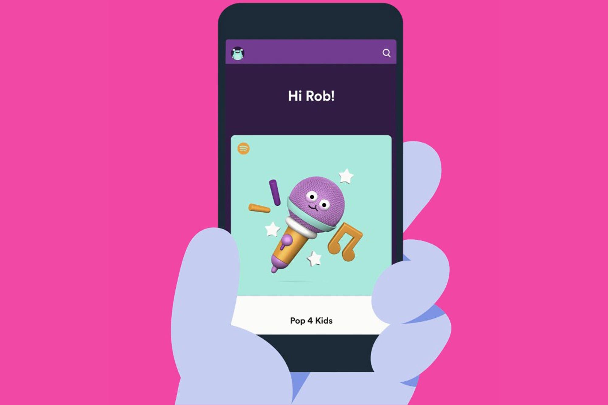 Así es Spotify Kids, la versión para niños del servicio de streaming de música