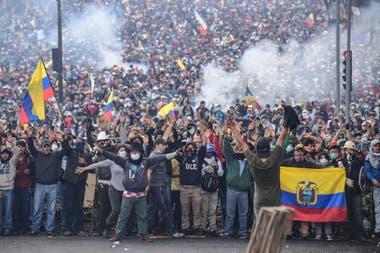 Colombia. Una multitud se manifiesta en Bogotá durante la huelga general del miércoles pasado