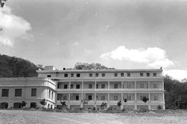 El hotel Termas en los años 40.
