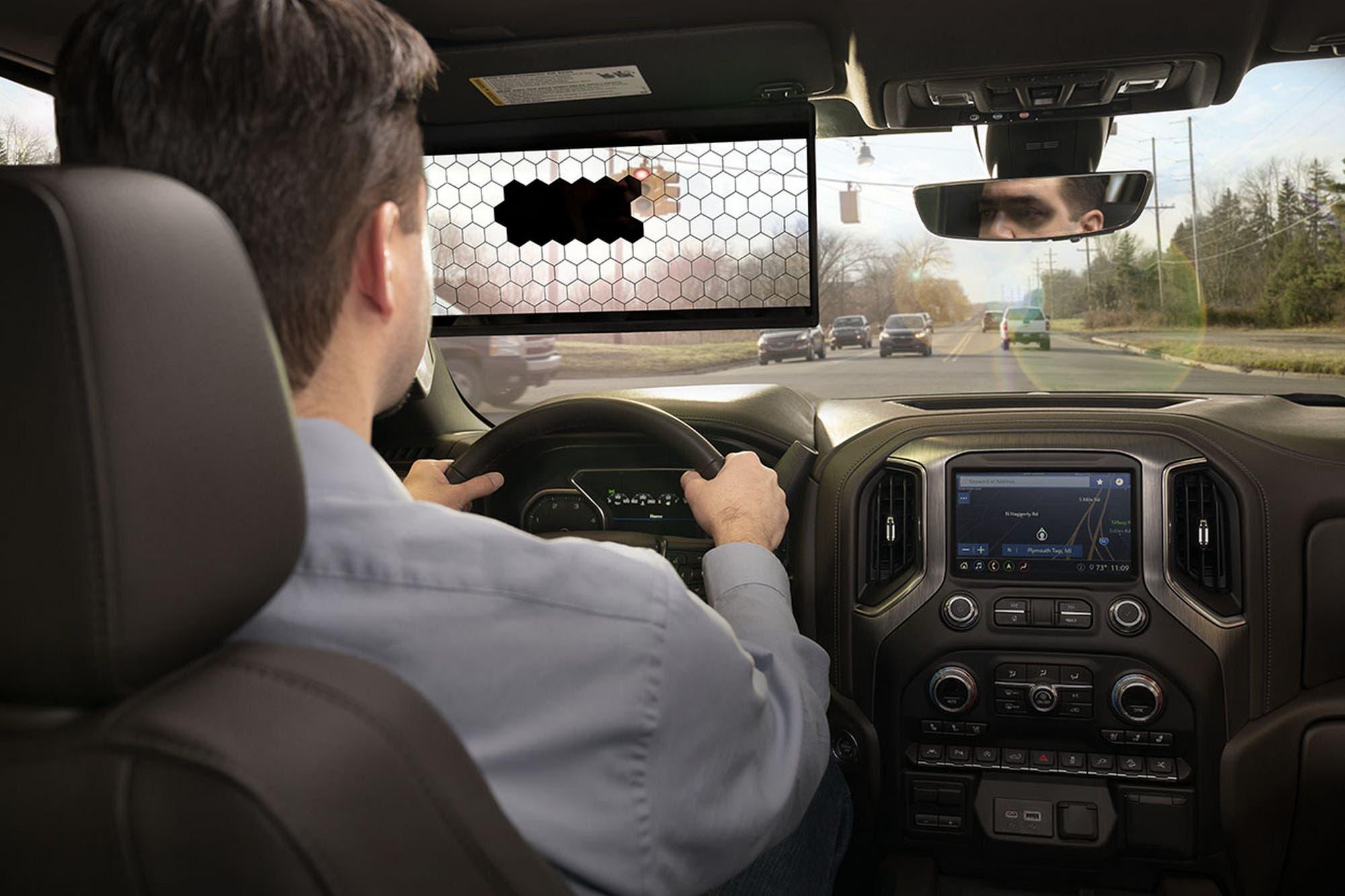 Bosch quiere cambiar el visor del auto con una pantalla LCD para bloquear la luz del sol