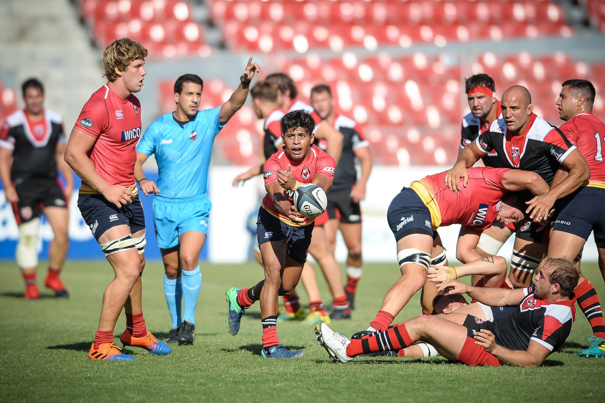Ceibos cumplió en Chile y ganó con punto bonus en plena parálisis del rugby
