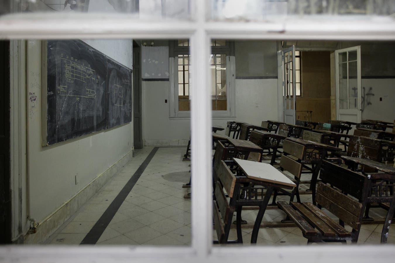 Escuelas cerradas, otra postal de la pandemia