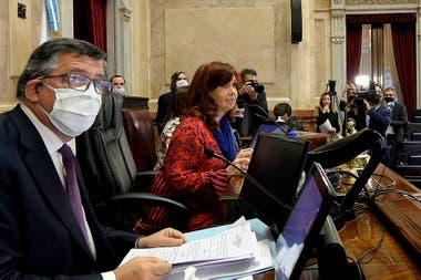Senado: Cristina Kirchner sesionó sin barbijo y generó polémica en las  redes - LA NACION