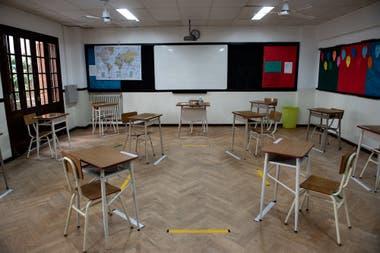 Aulas burbuja, en el colegio St. Nicholas´ School, será otra de los grandes protagonistas de la vuelta a clases