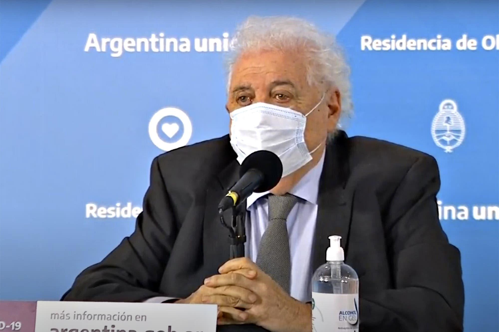 """Coronavirus en la Argentina: Ginés González García: """"No hay una alternativa distinta a la cuarentena"""""""