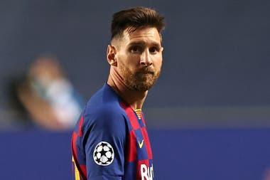 """Messi: """"A mi lado han estado los que están siempre. Eso me basta y me fortalece""""."""