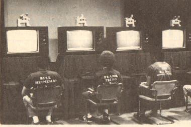 Imágenes del Campeonato de Space Invaders (1980)