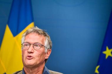 El epidemiólogo estatal y arquitecto de la estrategia sueca contra la pandemia de coronavirus, Anders Tegnell