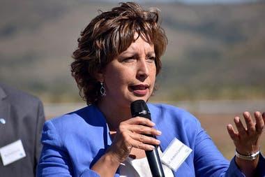 """La gobernadora Arabela Carreras dijo que """"empieza a tener participación en estos hechos la política partidaria"""""""