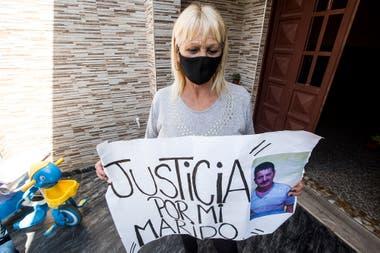 Francesca reclama justicia por el asesinato de su esposa, Antonio Ventrice