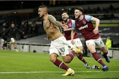 Premier League: con un golazo de Manuel Lanzini, West Ham le empató un  insólito partido a Tottenham - LA NACION
