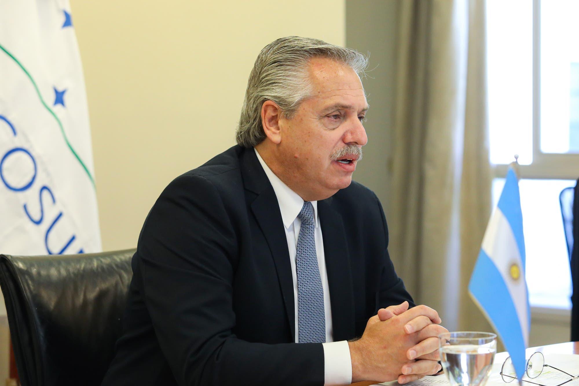 Alberto Fernández repudió los disturbios en Estados Unidos y respaldó a Joe Biden