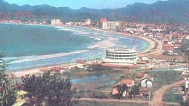 Praia Central era un lugar muy diferente en la década de los 60.