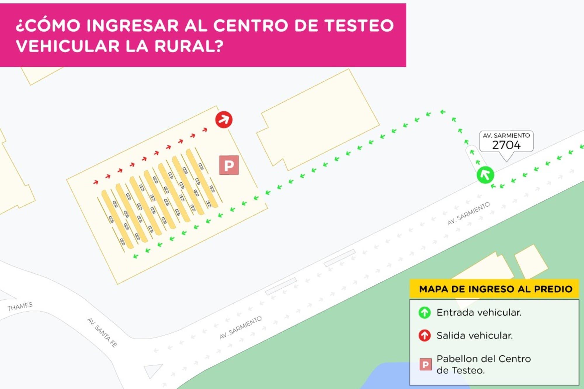 Coronavirus en la Argentina: la Ciudad suma un centro de testeo en La Rural