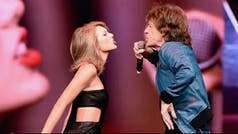 Taylor Swift cantó con Mick Jagger y Steven Tyler