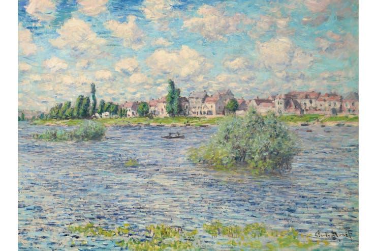 La Seine, de Claude Monet