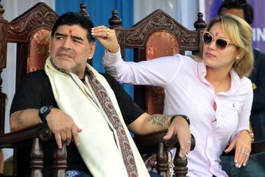 Maradona sumó un nuevo capítulo en su pelea con Villafañe