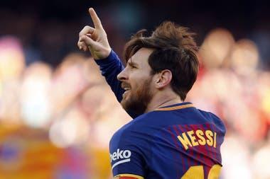 Lionel Messi, uno de los diez nominados por la FIFA como mejor jugador del año