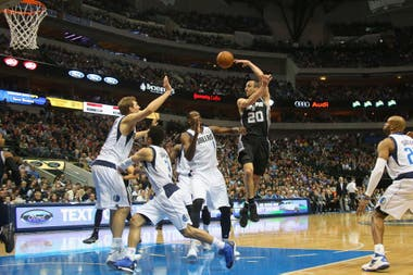 2013, el pase de Manu ante Dallas Mavericks