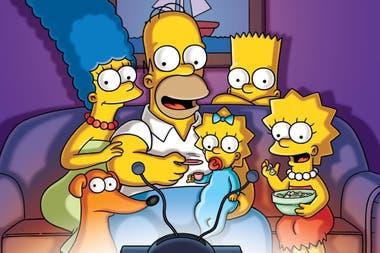 Primera cita al aire de los Simpson